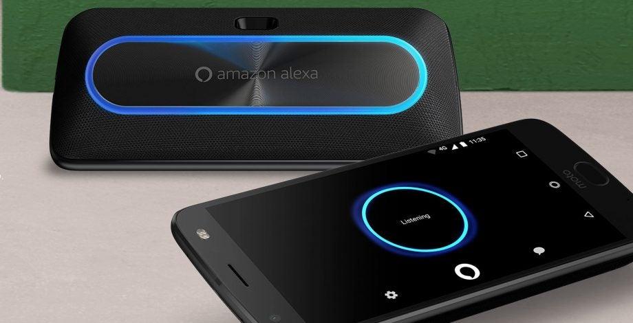 Moto Mods Alexa