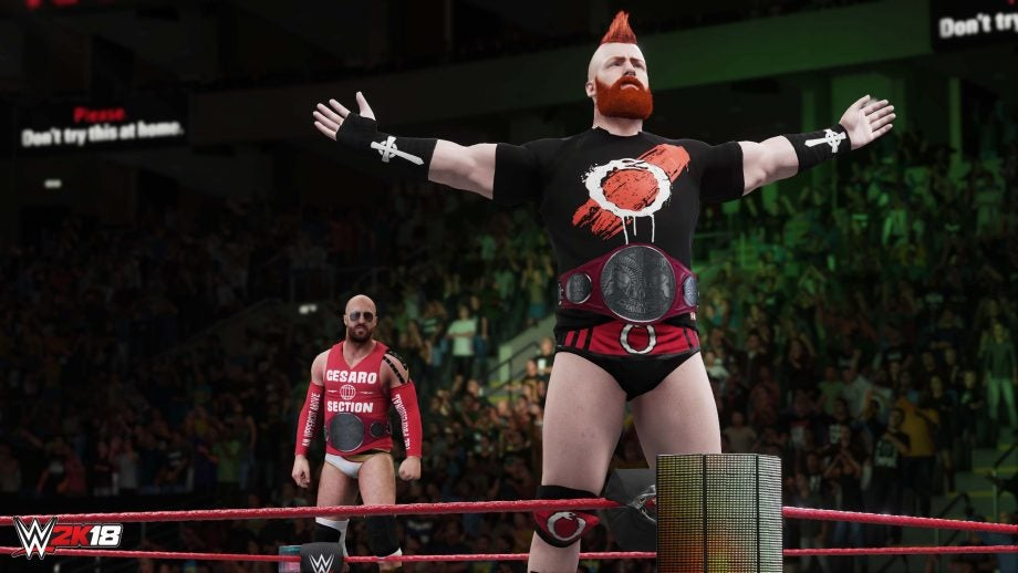 WWE 2K18 review | Trusted Reviews