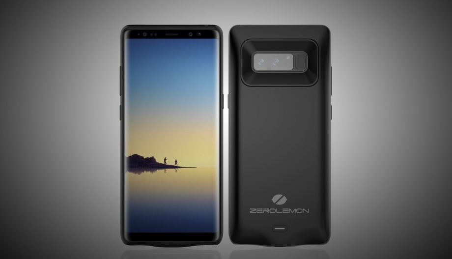 uk availability 4247b ef159 ZeroLemon's battery pack offers Samsung's Galaxy Note 8 5500mAh of ...