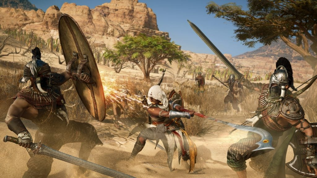 Assassin's Creed: Origins fight
