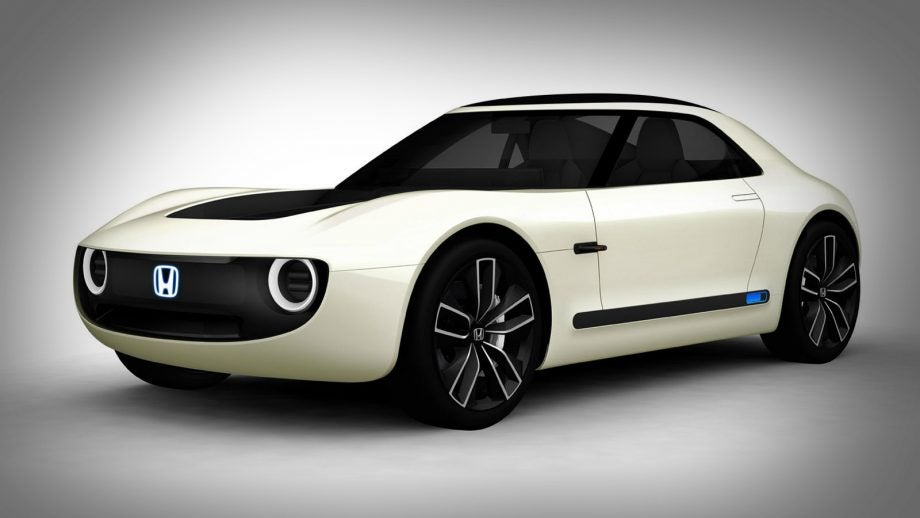 Retro Urban Ev Hot Hatch Concept At The Frankfurt Motor Show Honda S Just Taken Wraps Off A Gorgeous New Electric Two Seater Sports Car