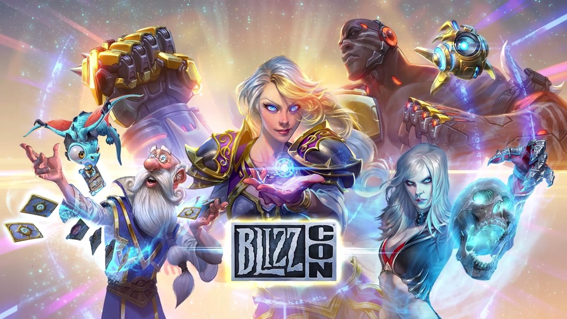 Blizzcon 2017 Overwatch World Of Warcraft Hearthstone