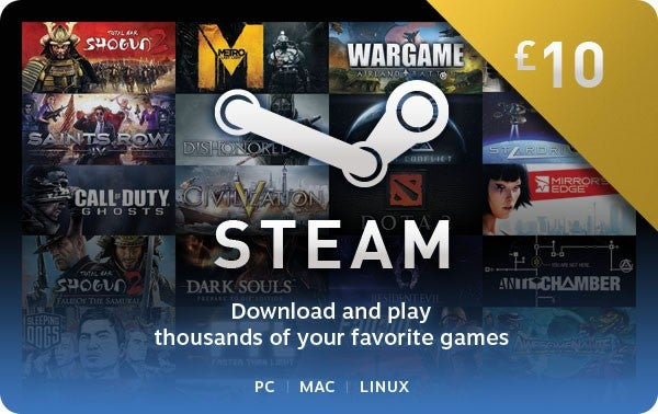Steam Digital Gift Cards: What are they and how do they work?