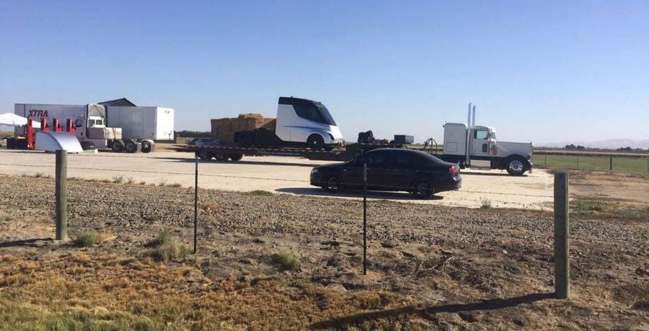 Tesla Truck Leak
