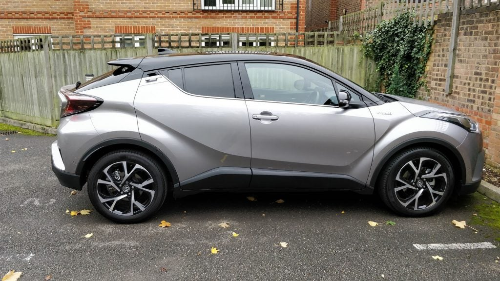 This Ful Stance Means That The Toyota C Hr Looks A Lot More Imposing Than Its Compact Crossover Design Would Normally Ear