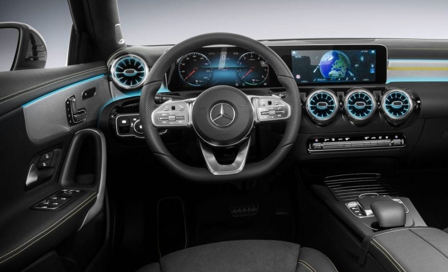 Mercedes\' new 2018 A-Class has an interior stuffed with tech luxury ...