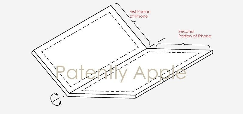 Apple foldable display patent