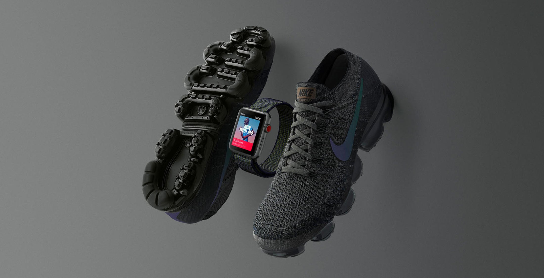 4a50c6975847 The tech and fitness giants have revealed the new Apple Watch Series 3  Cellular + GPS edition in a new Midnight Fog design.