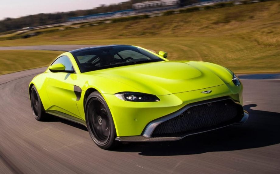 Aston Martins New Vantage V Is More Than Just Another Bond Car - Aston martin vantage v8
