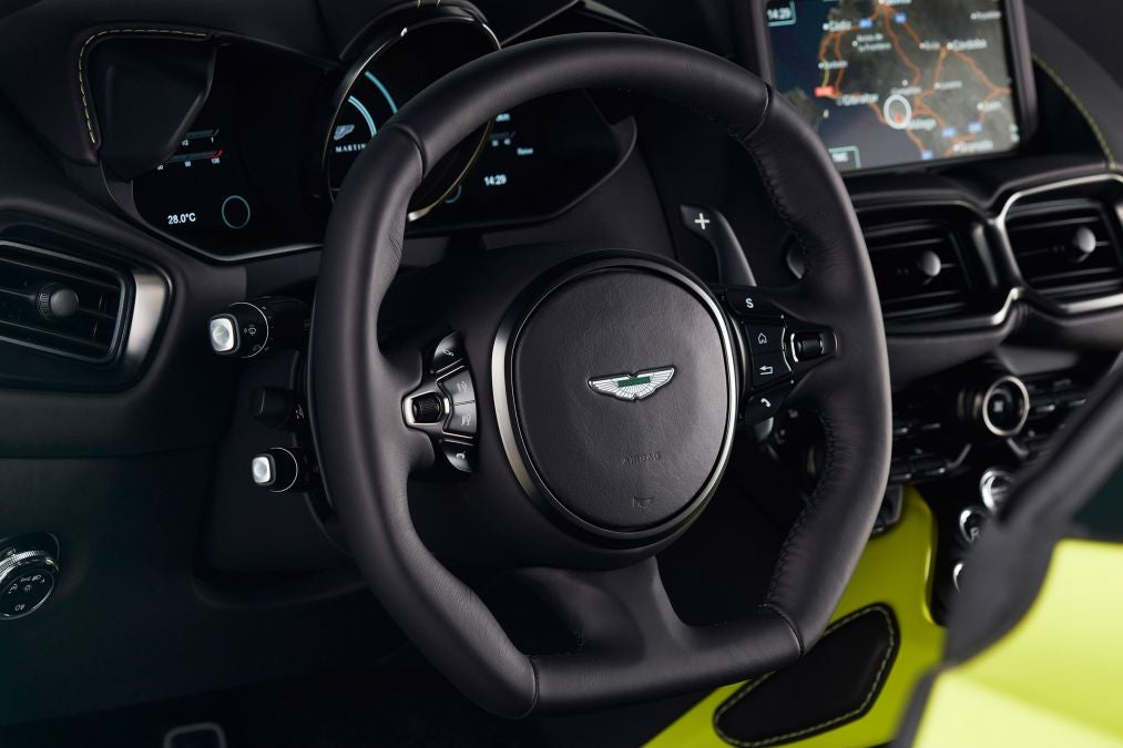 Aston Martin S New Vantage V8 Is More Than Just Another
