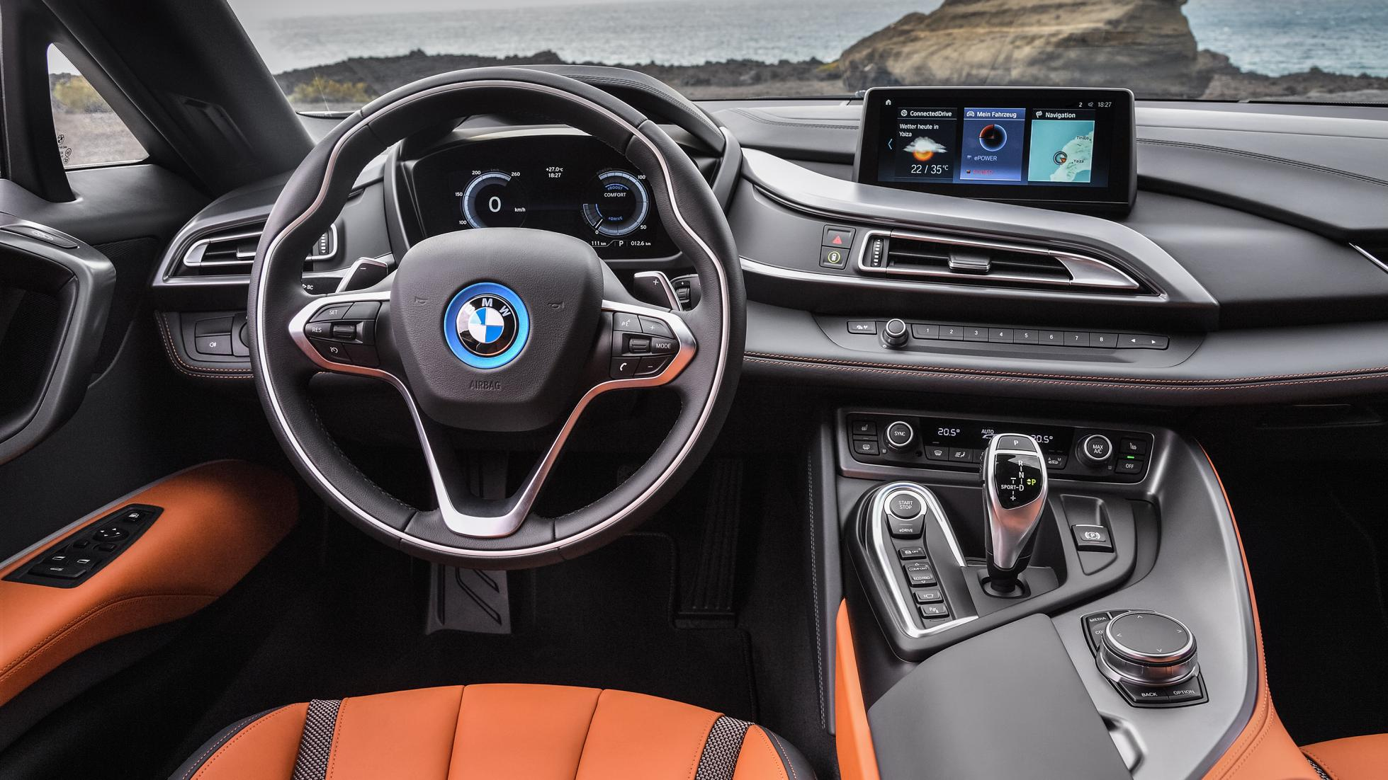Bmw I8 Roadster Revealed And It Might Just Be The Most Stunning