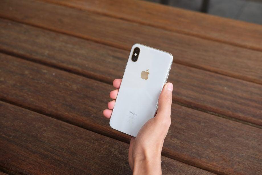 iPhone X back