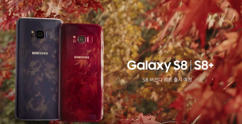 Samsung Galaxy S8 Gets A Gorgeous Autumnal Hue But You