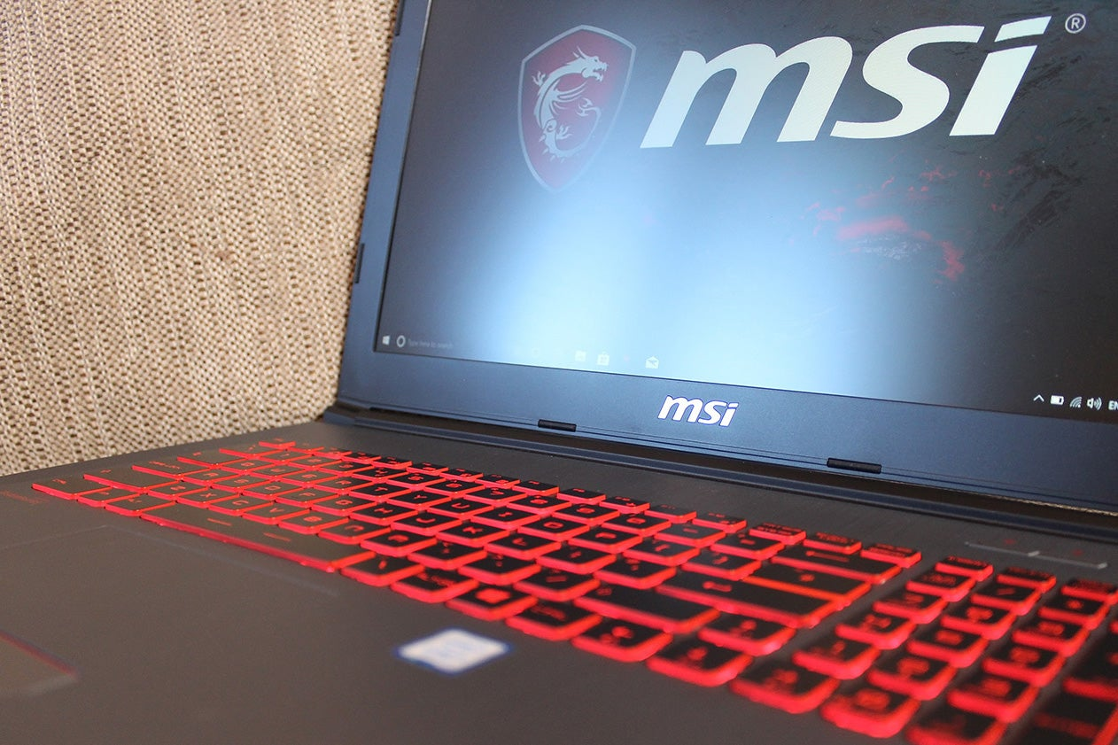 MSI GV62 7RC Review | Trusted Reviews