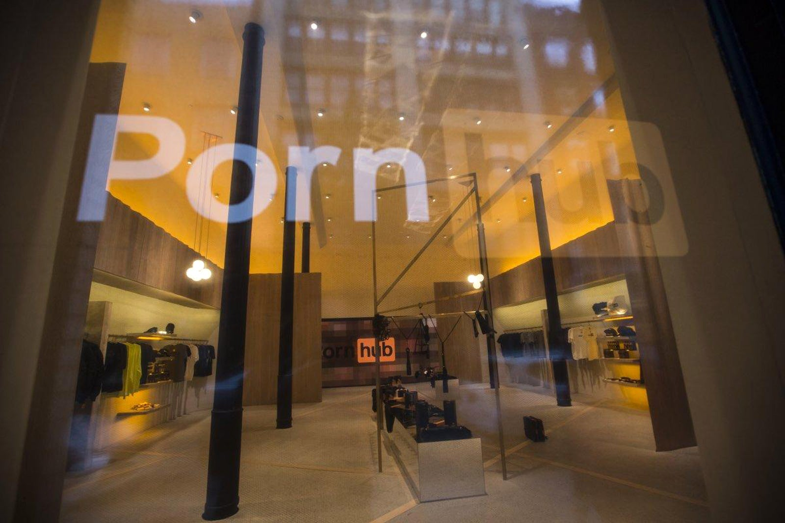 Pornhub S Latest Shameless Stunt Is A Pop Up Smut Shop