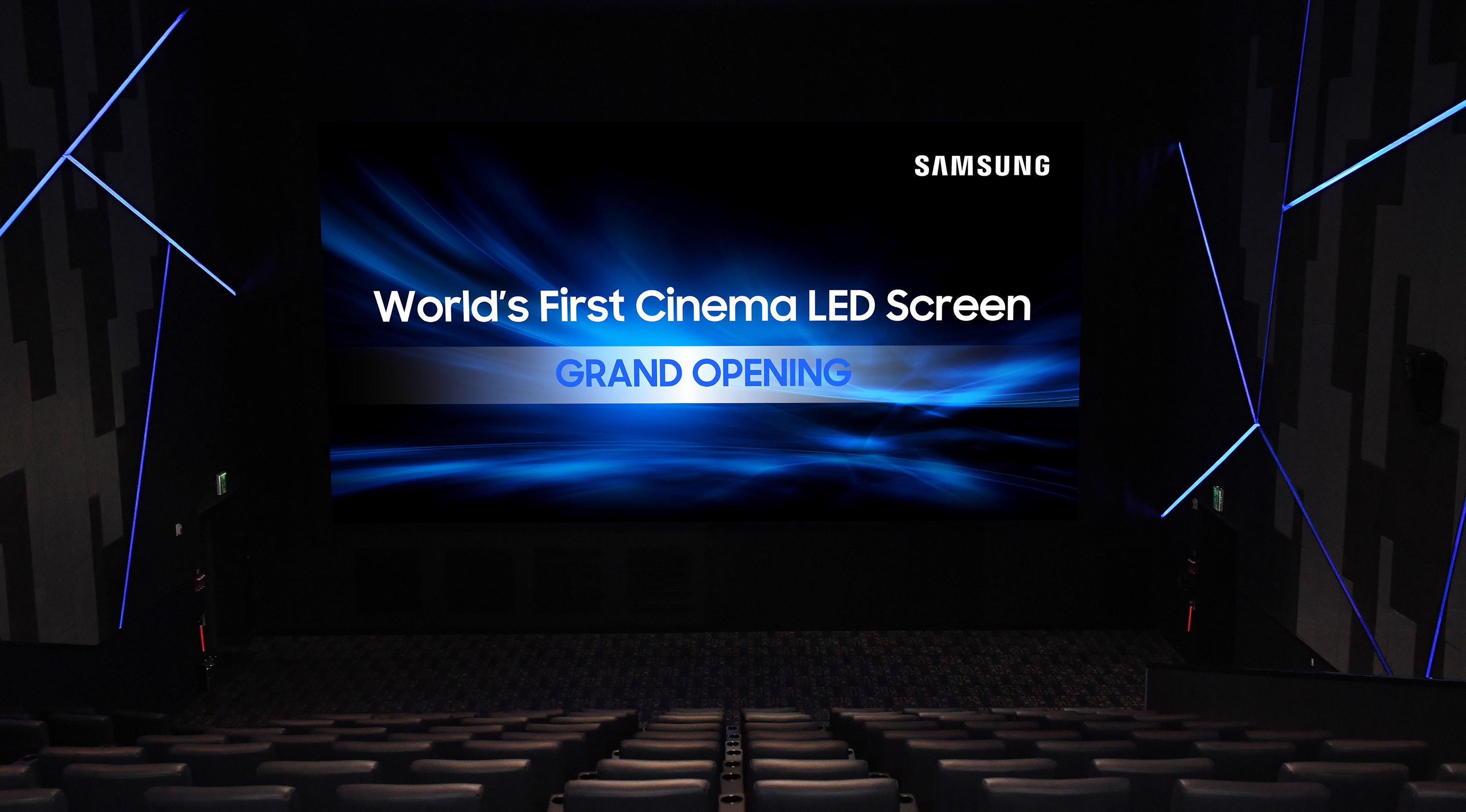 Samsung S Fancy 4k Cinema Led Display Tech Is Going On A Euro Trip  -> Fotos De Cinemas