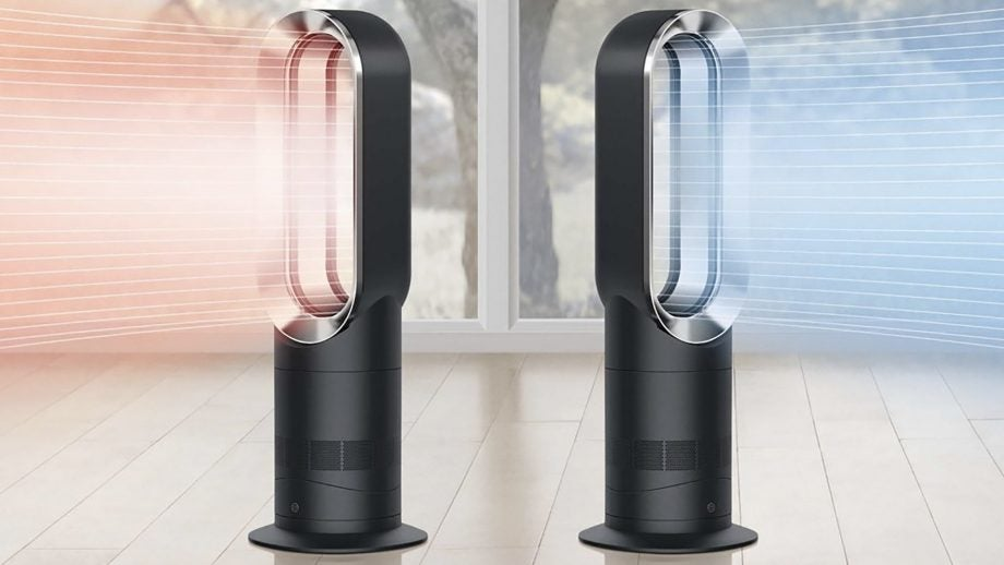 dyson 39 s bladeless fan heater has just been price slashed by over 150 trusted reviews. Black Bedroom Furniture Sets. Home Design Ideas