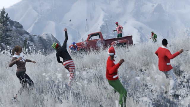 GTA Online's Festive Surprise Christmas update is coming