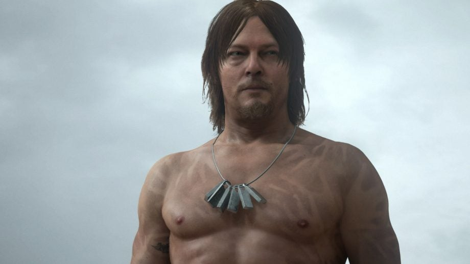 Norman Reedus in Death Stranding has a nasty surprise if you keep staring at his crotch