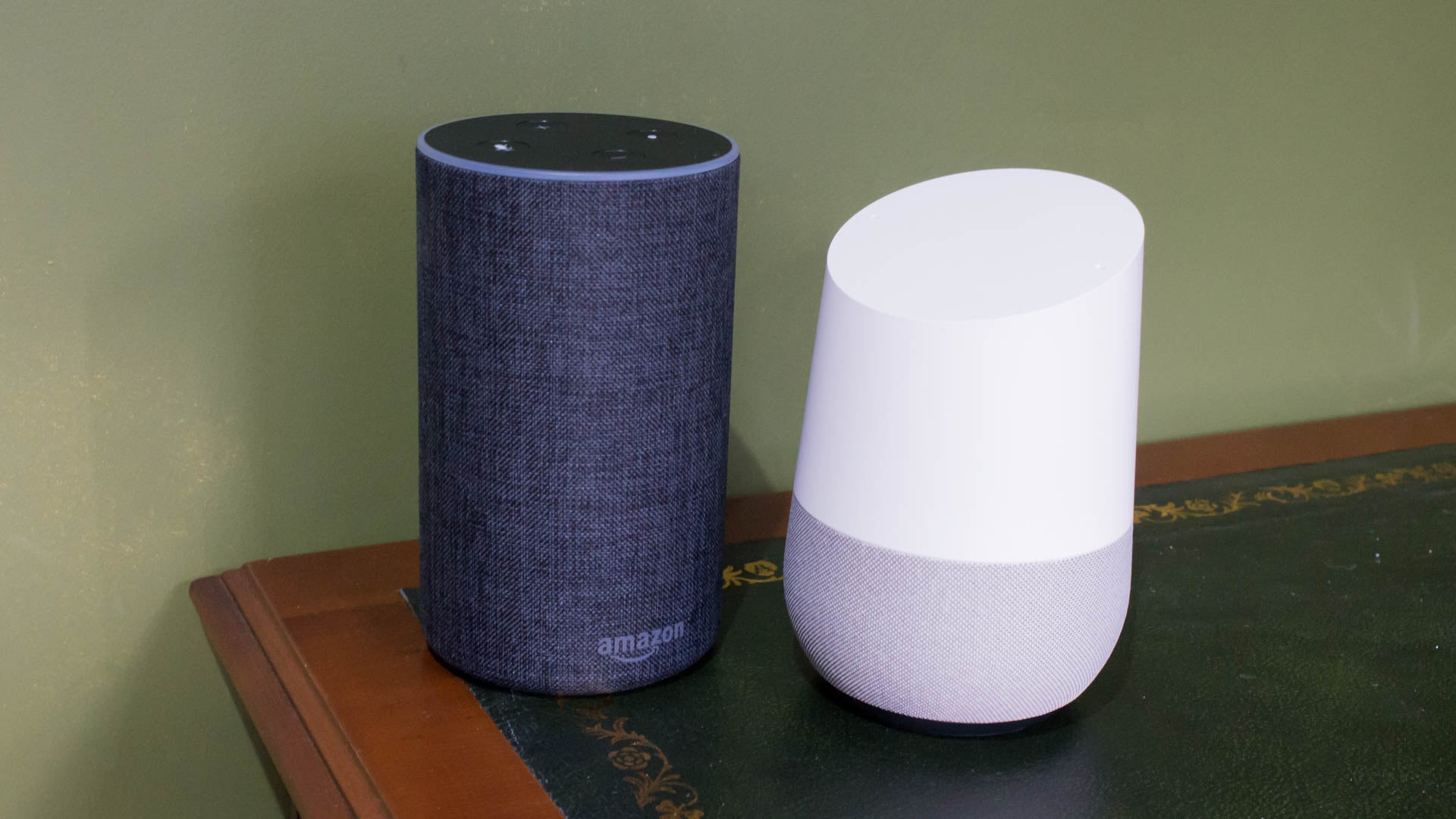 daded8a2f76ec0 Google Home vs Amazon Echo: Which is the best smart speaker? | Trusted  Reviews
