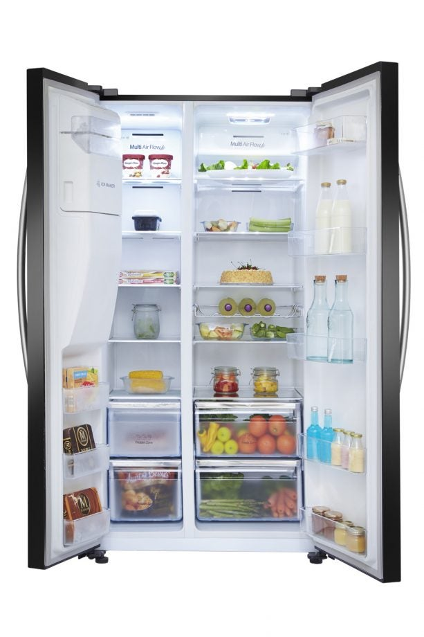 Hisense Rs696n4ii1 Fridge Freezer Review Trusted Reviews