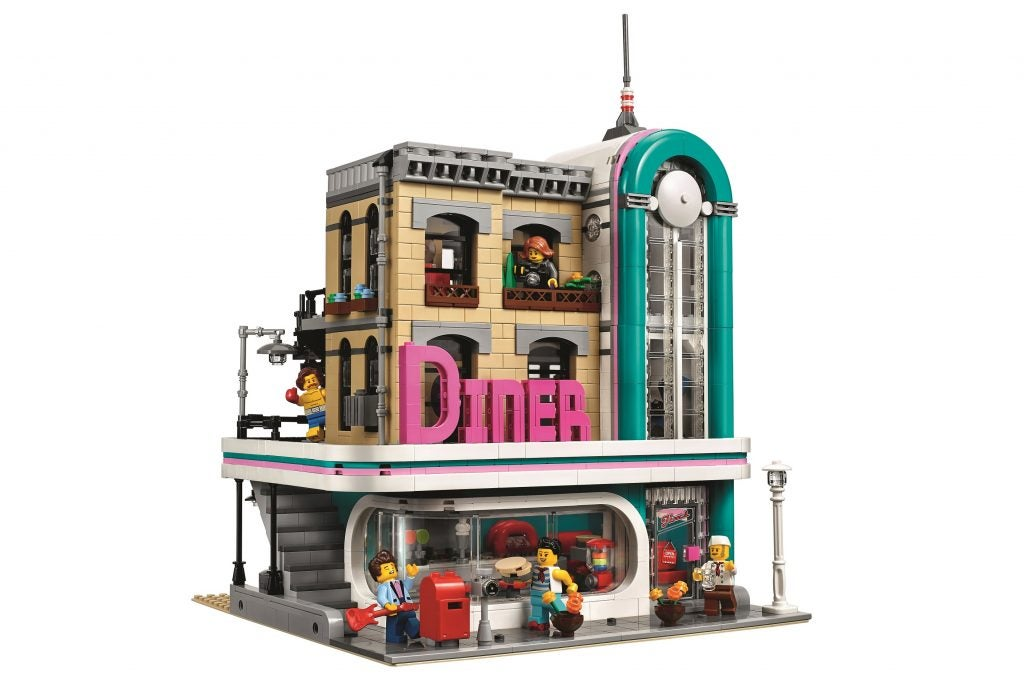 lego creator expert downtown diner 10260 review trusted. Black Bedroom Furniture Sets. Home Design Ideas