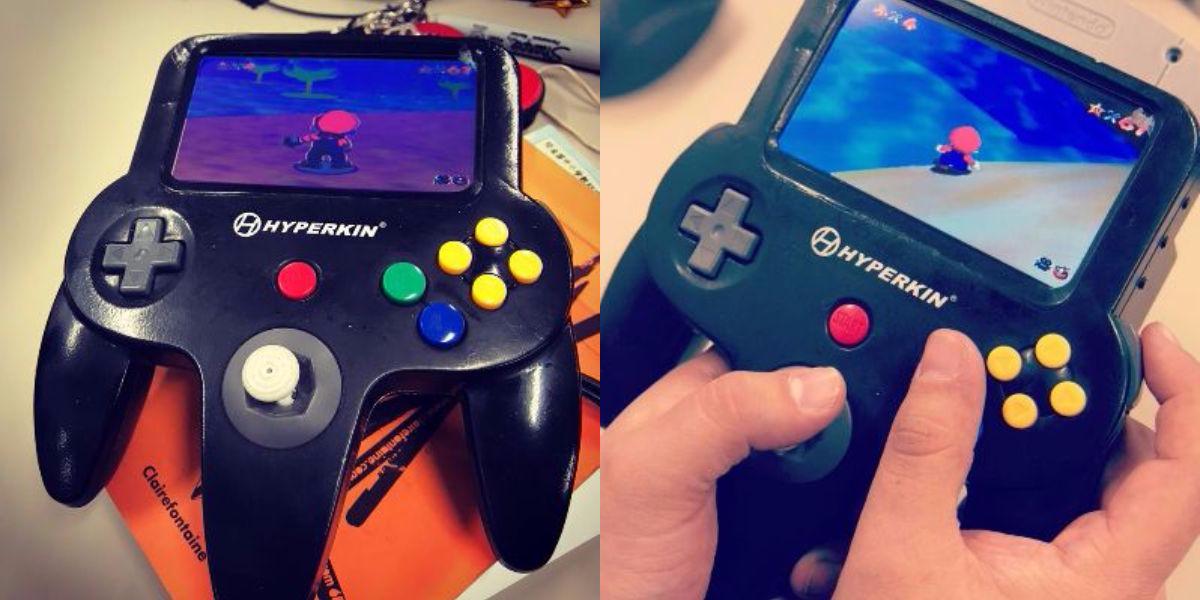 This Portable Nintendo 64 Mini Prototype Looks Like A