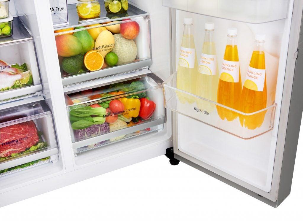 Lg Gsx961nsaz Fridge Freezer Review Trusted Reviews