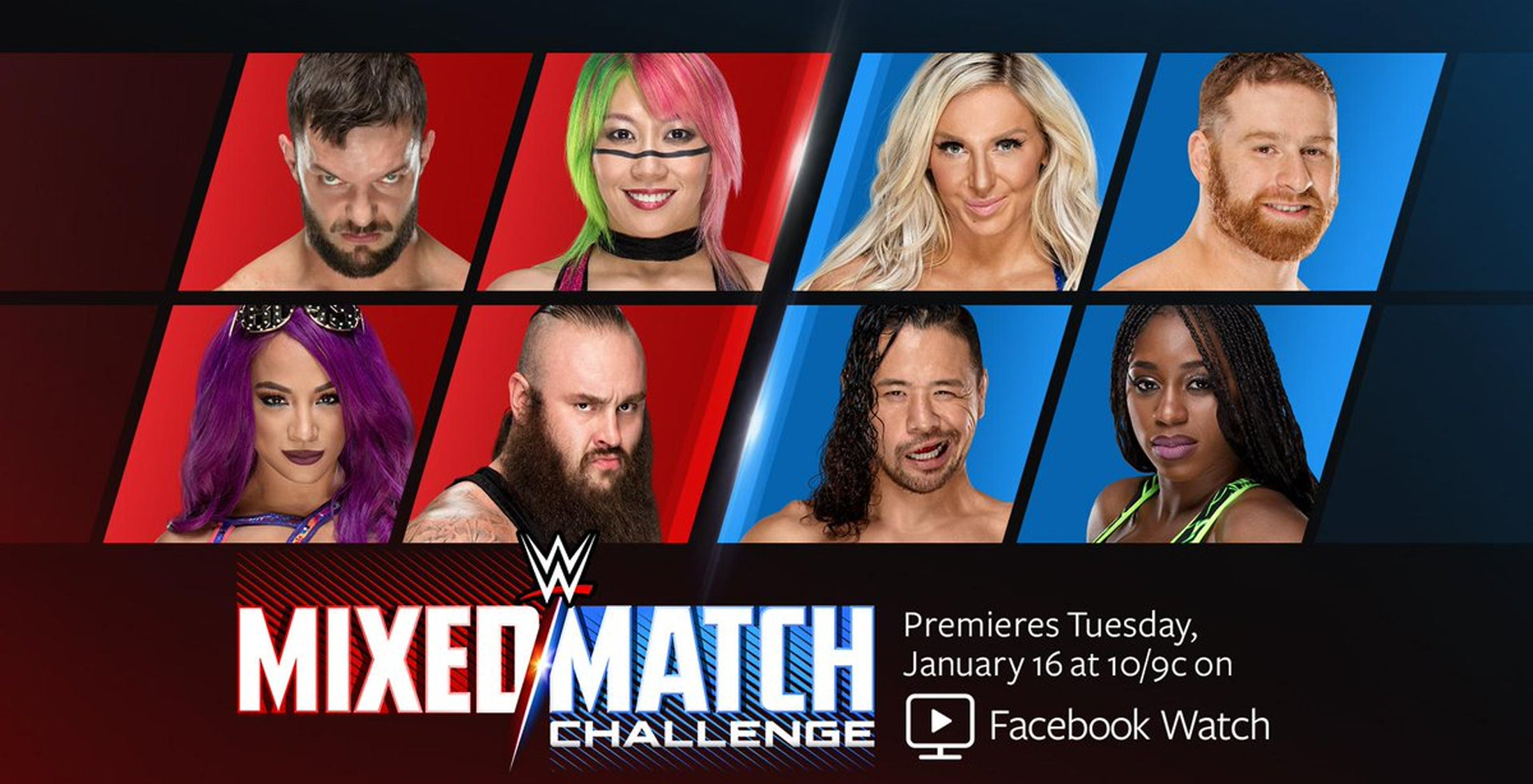 Wwe Mixed Tag Tournament Coming To Facebook And You Ll