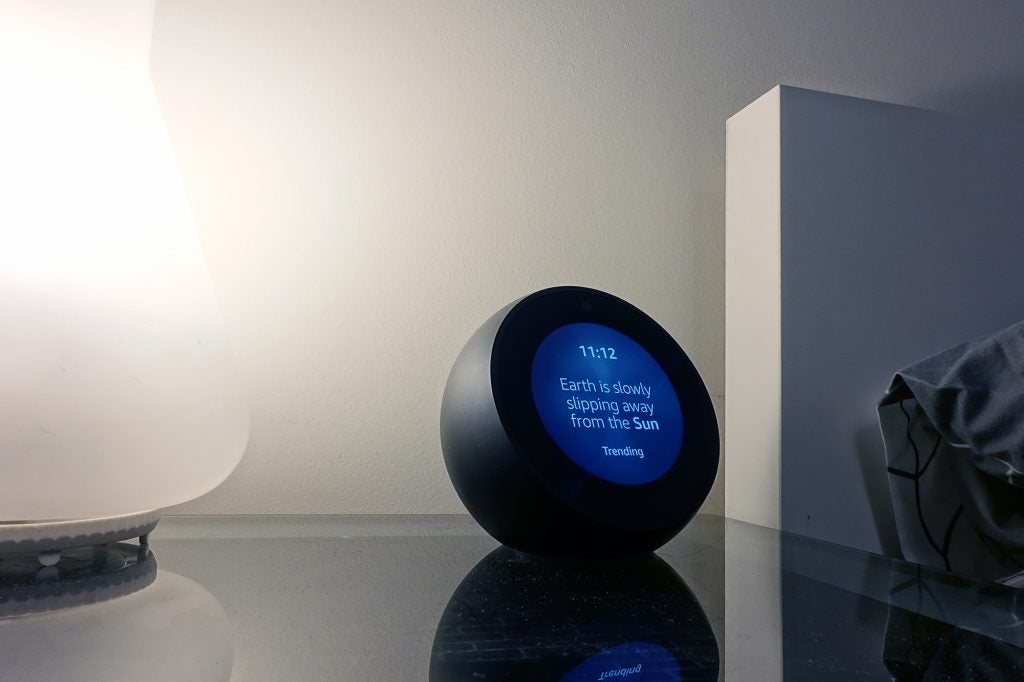 Amazon Echo Spot Review Meet The Best Echo To Date