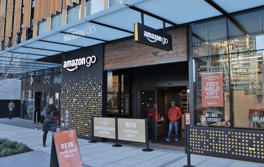 Amazon wants to bring cashierless tech to cinemas, stadiums and airports