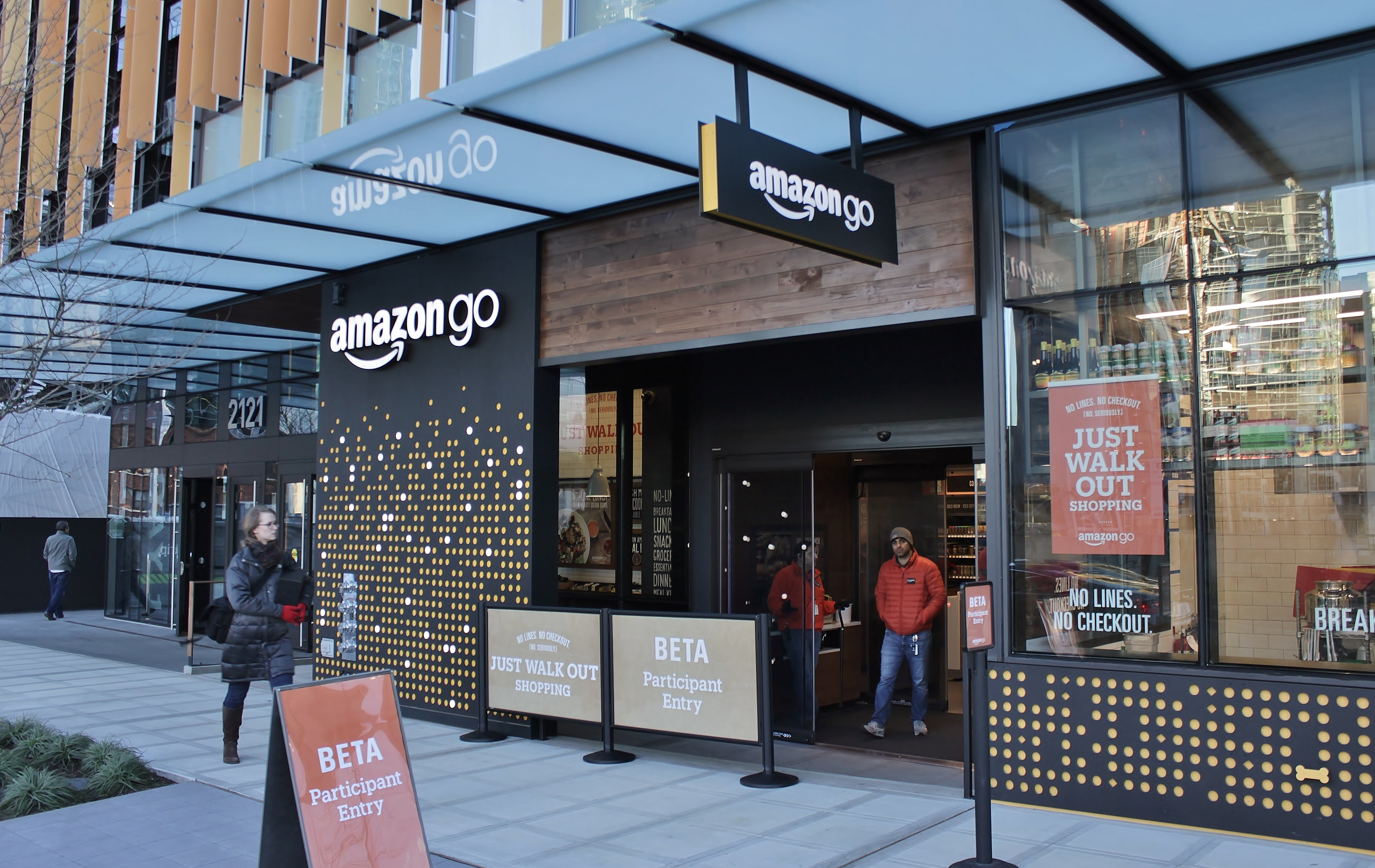 Amazon Go expansion plans will see airport snacks fly off the shelves | Trusted Reviews