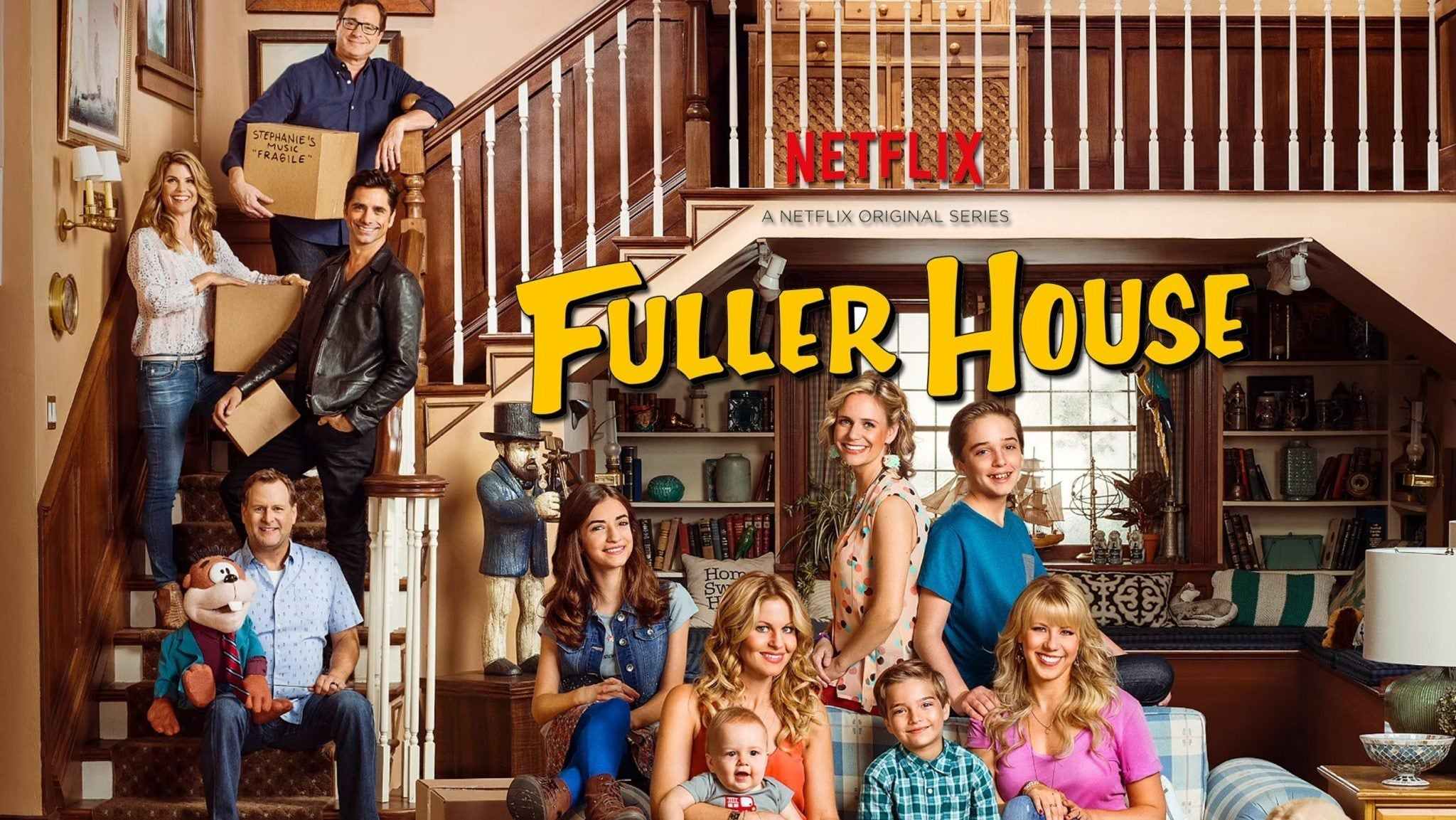 netflix renews popular sitcom fuller house for a fourth season