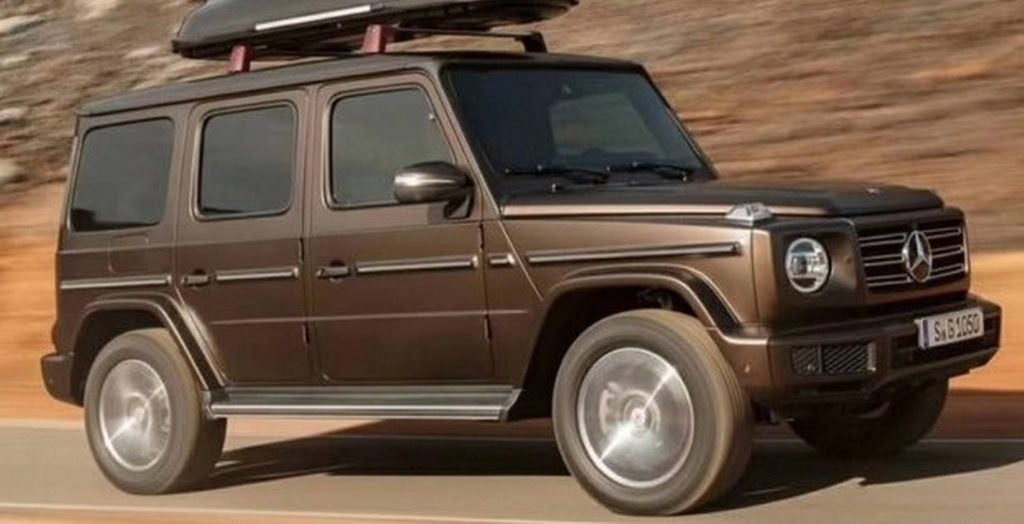 As You Can See, The New G Class Keeps Its Retro Shape With Minimal Changes,  Which Is Likely To Please Fans Of The Near 40 Year Old Series.