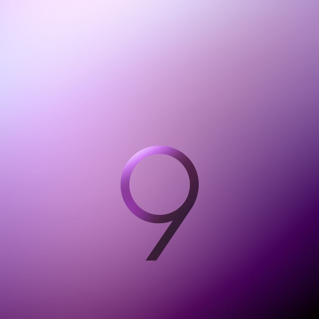 Here's where to download the stock Galaxy S9 wallpaper