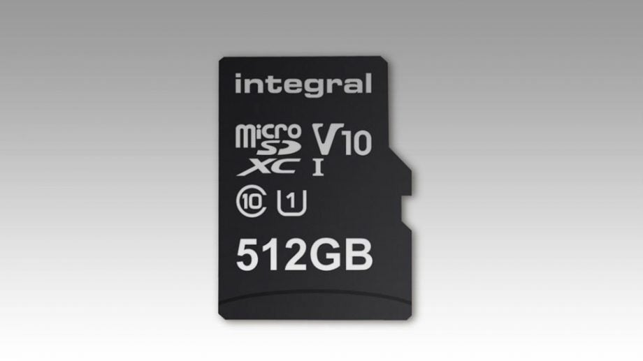 83d68c6f9 SanDisk s 400GB microSD card is no longer the largest of its kind in terms  of storage capacity. That would be Integral Memory s all-new 512GB chip.