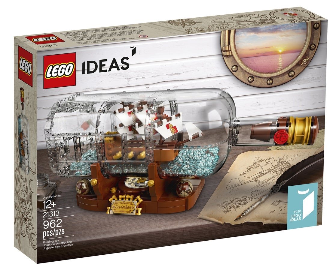 LEGO Ideas: Ship in a Bottle 21313 Review | Trusted Reviews