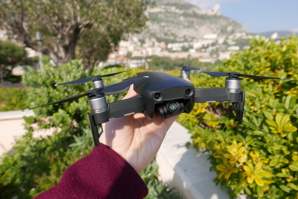 The Mavic Air Actually Needs Quite A Large Run Up Fly Towards An Object For Automatic Avoidance To Kick In