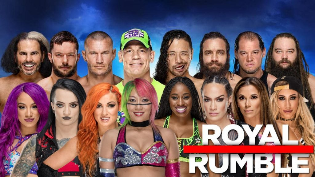 WWE Royal Rumble 2018: How to live stream the event online