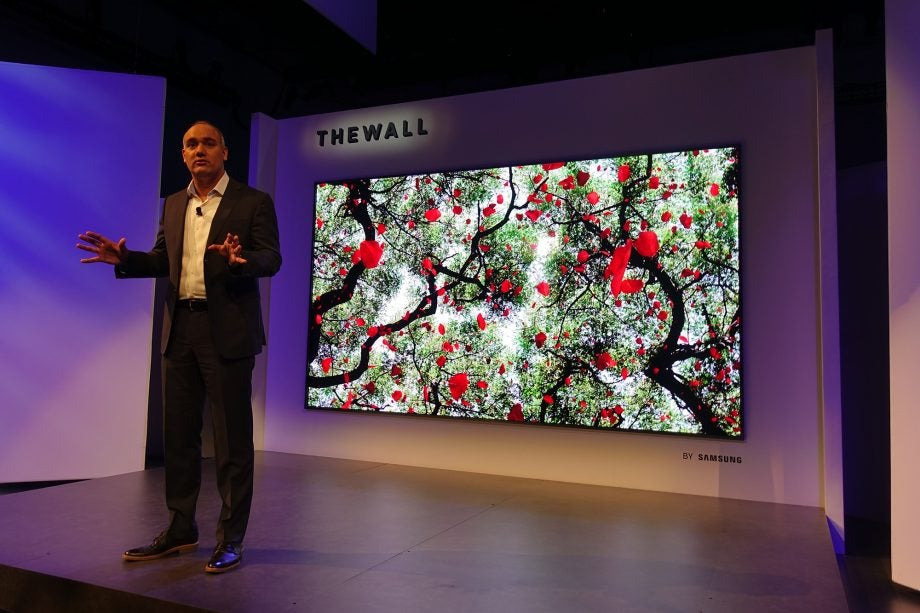 Samsung's The Wall could be just the first of its ultra extravagant TVs