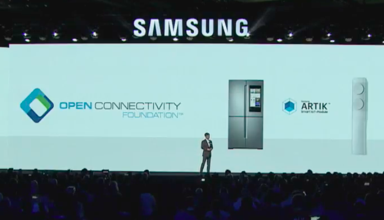 Samsung Iot Smart things ces 2018