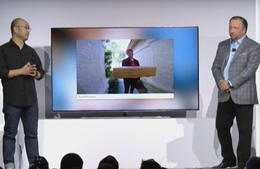 Samsung Bixby Smart TV CES 2018