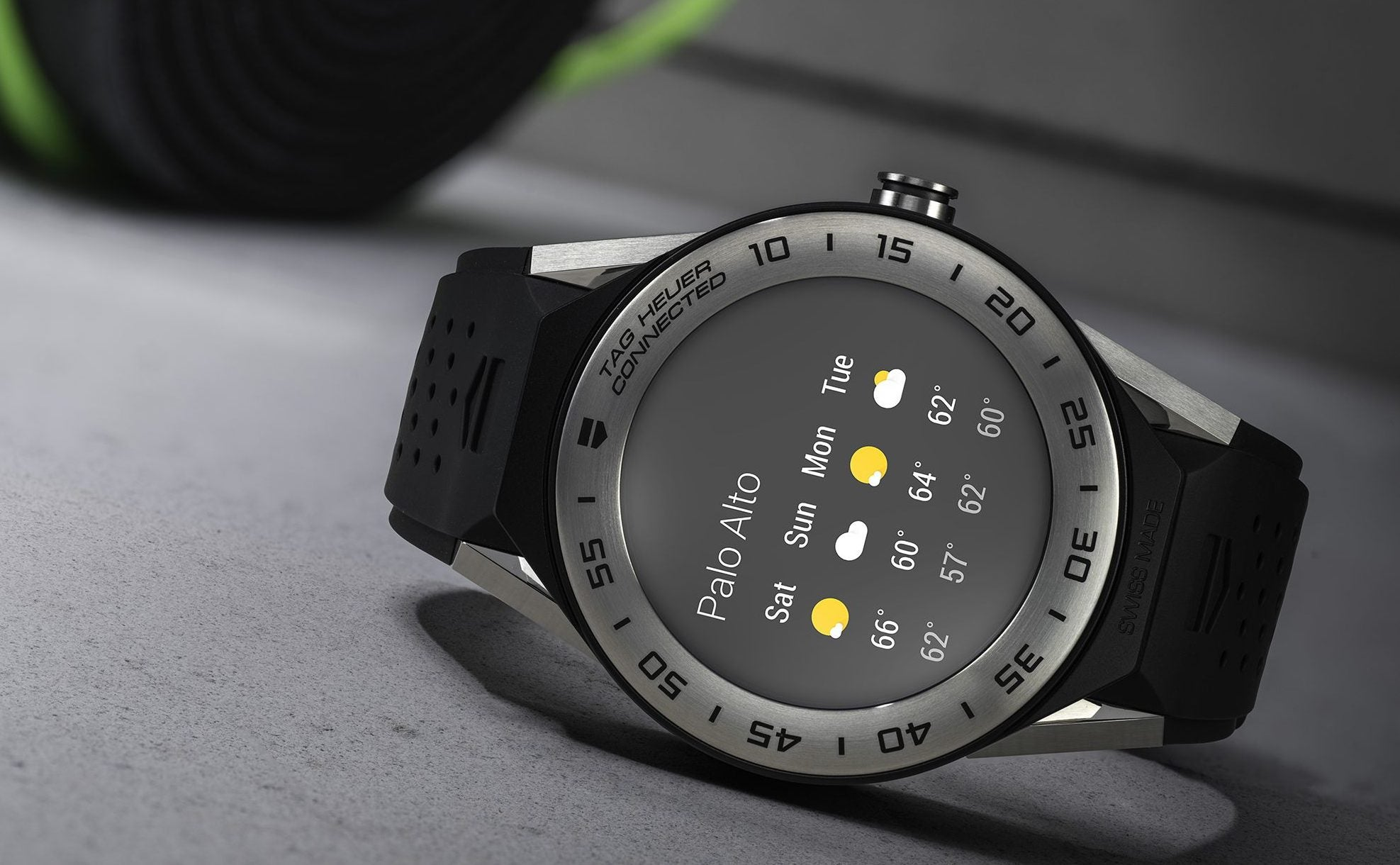 Tag heuer unveils the smaller connected modular 41 android wear smartwatch trusted reviews for The tag heuer connected modular
