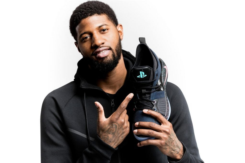 competitive price 55819 acc71 Nike's new PG2 basketball shoes are a PlayStation gamer's ...