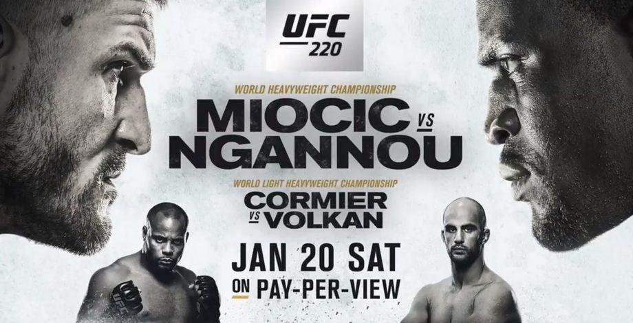 UFC 220 how