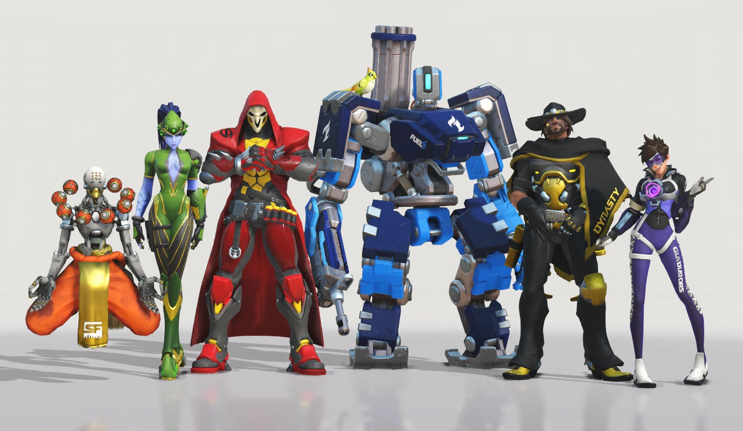 Overwatch League Update Adds A Ton Of New Skins And