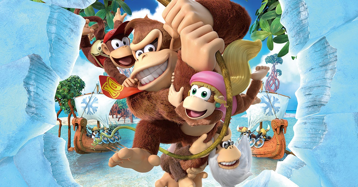 Donkey Kong Country Tropical Freeze Is Coming To Switch