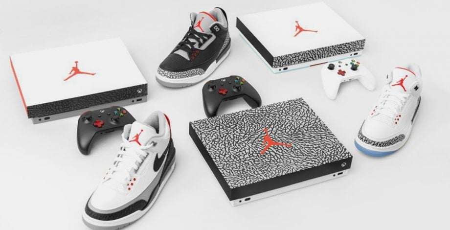 The one-of-a-kind Xbox One X Air Jordan consoles are the swaggiest ever