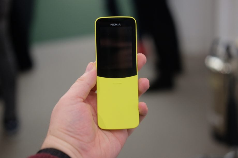 Nokia 8110 4G first look | Trusted Reviews