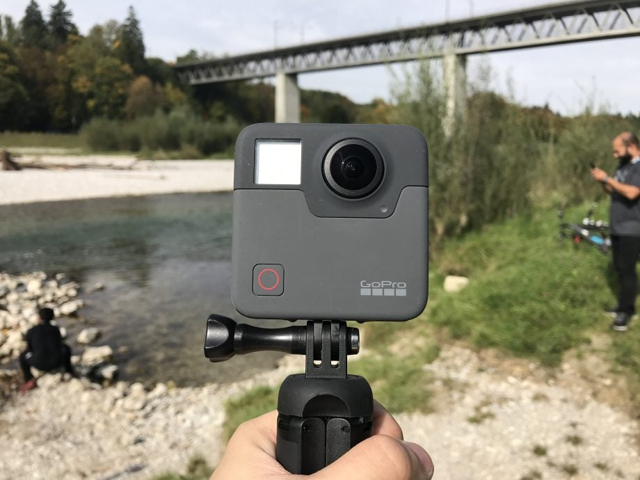 Best action cameras: GoPro Fusion